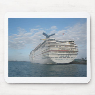 Stern of the Carnival Sensation Cruise Ship Mouse Pad
