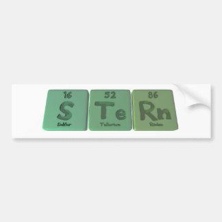 Stern-S-Te-Rn-Sulfur-Tellurium-Radon.png Bumper Sticker