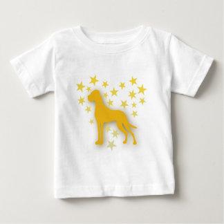 Sternchenherzendogge Baby T-Shirt