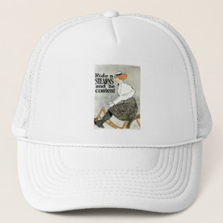 Sterns Bicycle - by Edward Penfield Trucker Hat