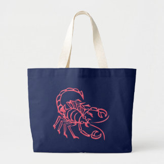 Sternzeichen alacrán zodiac sign Scorpio Bolsa Tela Grande