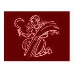 Sternzeichen virgen zodiac sign Virgo Tarjeta Postal