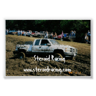Steroid Racing Poster