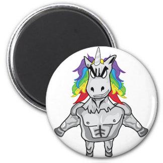 Steroid Unicorn Magnet