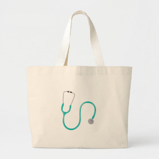 Stethescope Large Tote Bag