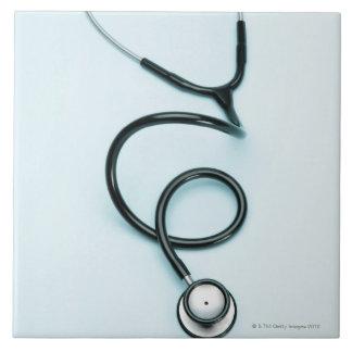 Stethoscope 2 large square tile