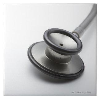 Stethoscope 3 large square tile