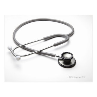 Stethoscope 4 postcard