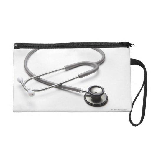 Stethoscope 4 wristlet clutch