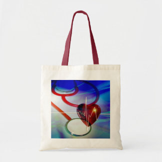Stethoscope and Heart Tote Bag