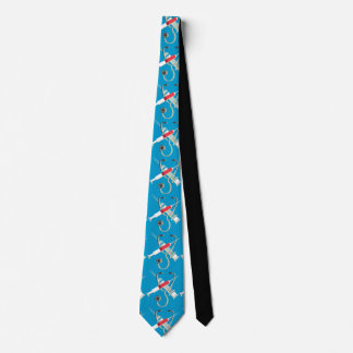 Stethoscope and Syringes Tie