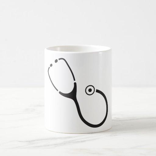 Stethoscope Coffee Mugs
