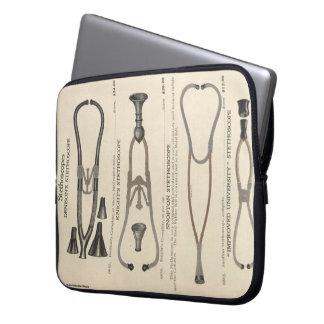Stethoscope Computer Sleeve