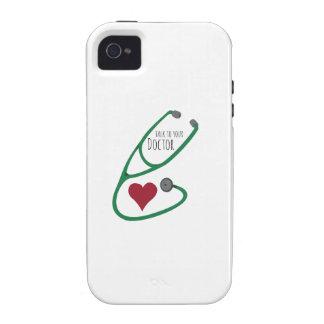Stethoscope_Doctor Case-Mate iPhone 4 Funda