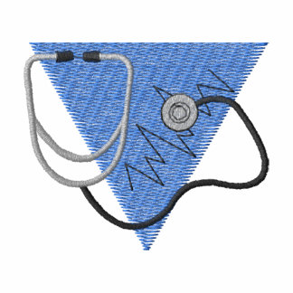 Stethoscope Embroidered Shirt