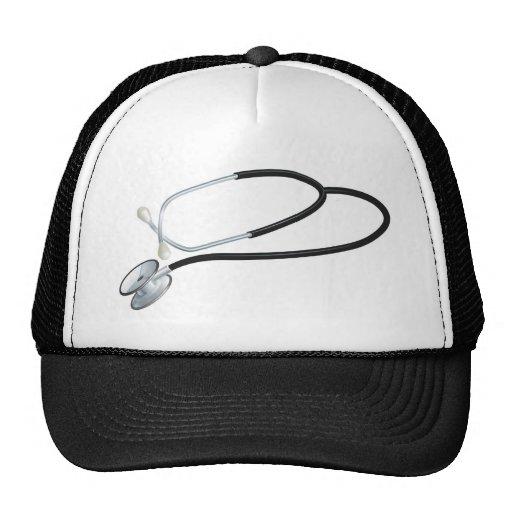 Stethoscope illustration hat