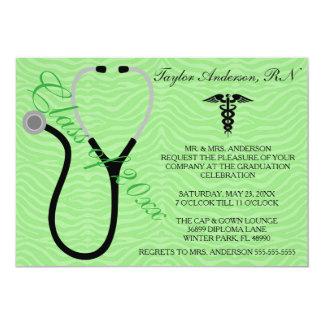 Stethoscope Medical School Graduation Announcement