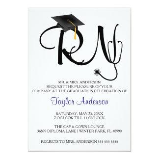 Nursing School Graduation Invitations Announcements Zazzle