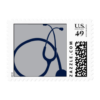 Stethoscope Postage Stamp