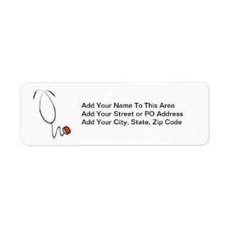 Stethoscope Tshirts and Gifts Label