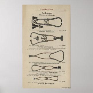 Stethoscopes Poster