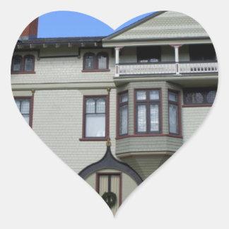 Stetson Mansion 2 Heart Stickers