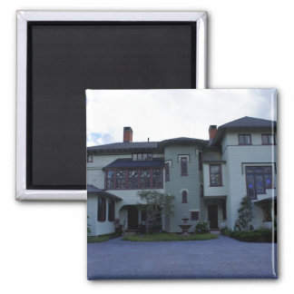 Stetson Mansion 3 2 Inch Square Magnet