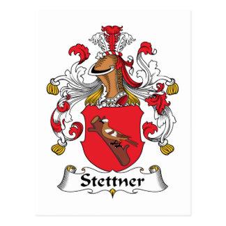 Stettner Family Crest Postcard