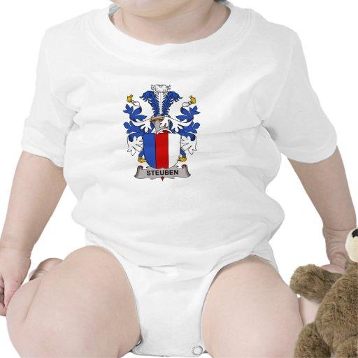 Steuben Family Crest Baby Bodysuits