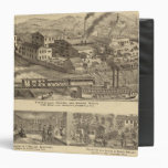 Steubenville Foundry and Machine Works Vinyl Binder