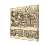 Steubenville Foundry and Machine Works Canvas Print