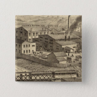 Steubenville Foundry and Machine Works Pinback Button