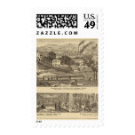 Steubenville Foundry and Machine Works Postage Stamp