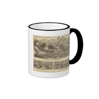 Steubenville Foundry and Machine Works Ringer Coffee Mug