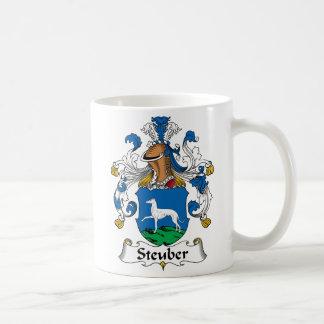 Steuber Family Crest Coffee Mug