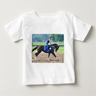 Steve Asmussen Workouts at Saratoga Baby T-Shirt