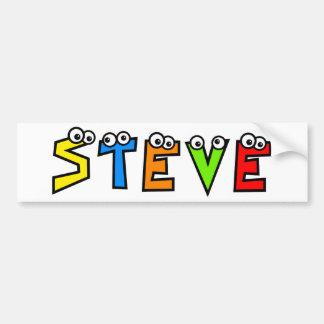 Steve Bumper Sticker