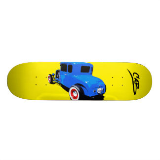 "Steve Caballero  ""Cabart 5"" Skateboard Deck"