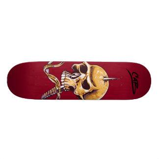 """Steve Caballero """"Skull"""" Skateboard Deck"""