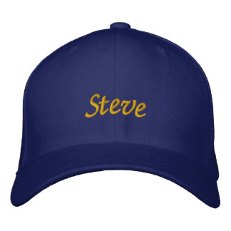 Steve Embroidered Baseball Hat