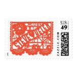 Steve Hearts Helen Postage Stamp