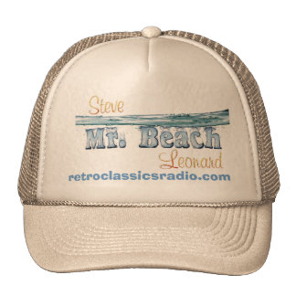 "Steve ""Mr. Beach"" Leonard Trucker Hat"