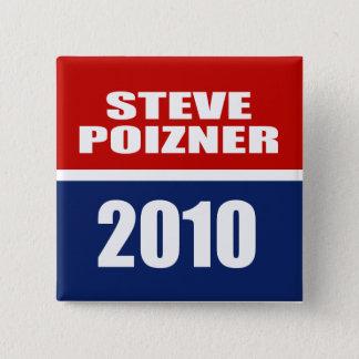 STEVE POIZNER FOR GOVERNOR PINBACK BUTTON