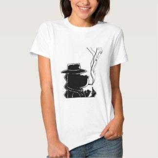 Steve Silloette T Shirt