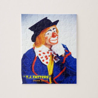 Steve Smith, Clown as T.J. Tatters Picture Puzzle