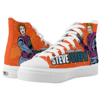 STEVE/STEPH Freaks & Gods High Top Shoes