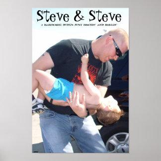 steve & steve poster