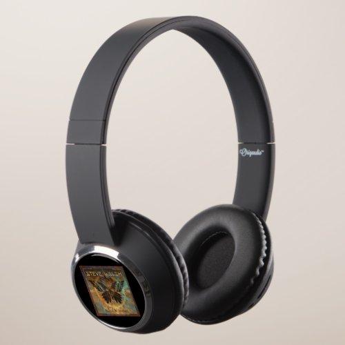 Steve Walsh Black Butterfly Headphones