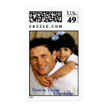 Steve with little girl_2, Forever Young , Found... Stamp