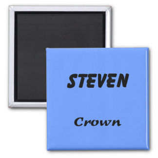 Steven 2 Inch Square Magnet